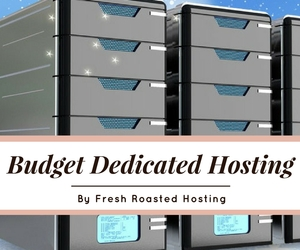 budget dedicated hosting
