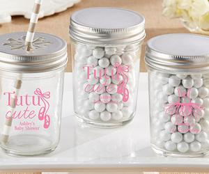 baby shower mason jars