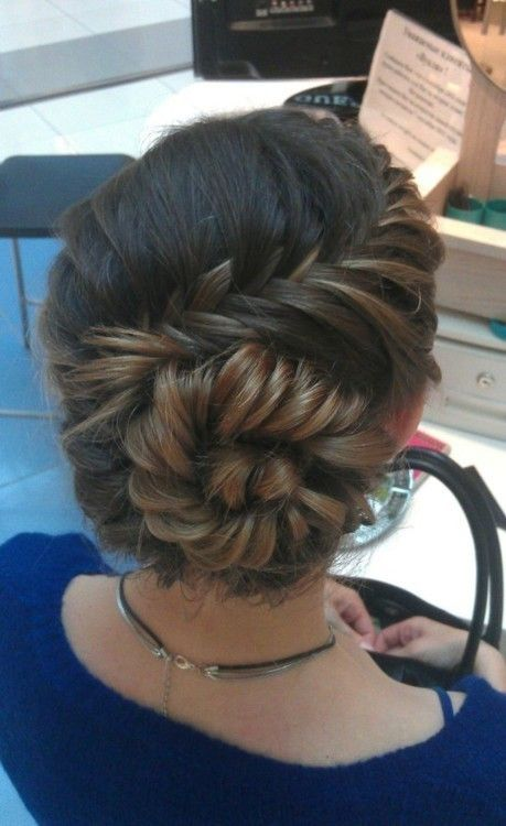 beauty / Braided bun