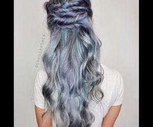 hair gris grey