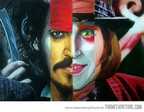 Funny-johnny-depp-painting-characters-movies_large