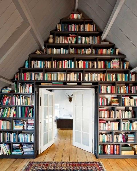 interior design / library
