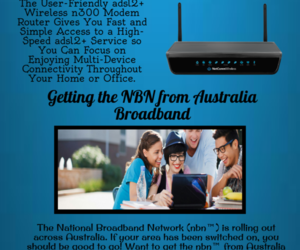 nbn ready wifi modem