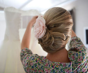 hair up-do bridal wedding
