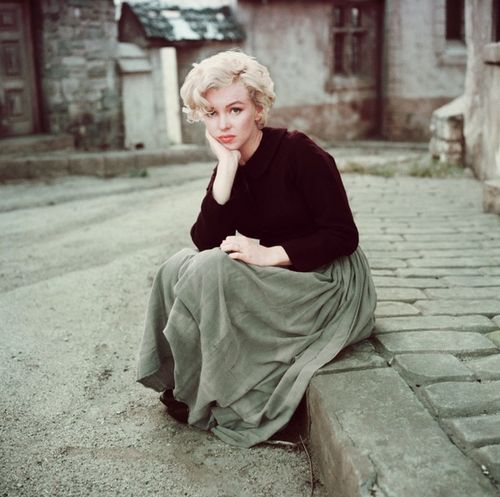 Casual Marilyn Monroe