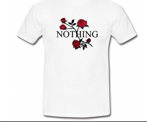 flowers 'nothing' t-shirt