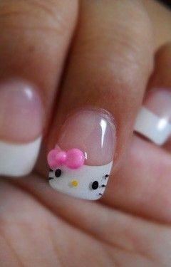 Hello Kitty / Hello Kitty 3D faux nails