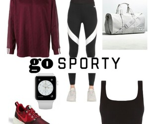 outfit look sport gum