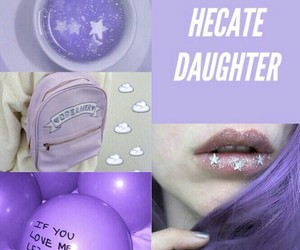 witch hecate purple lilac