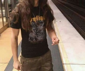 long haired guy