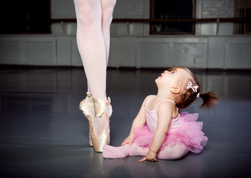 baby, ballet, dream, kid - inspiring picture on Favim.com