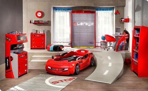 Cool children car beds for toddler boy bedroom design ideas ...
