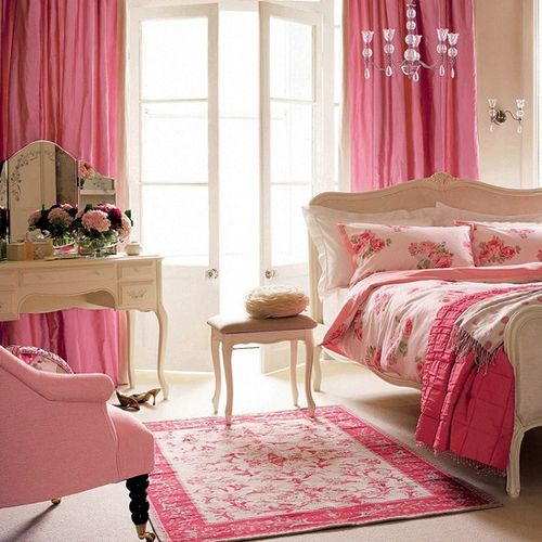 Bedroom Decorating Ideas Teenage Girls Bedroom With Vintage Inspired