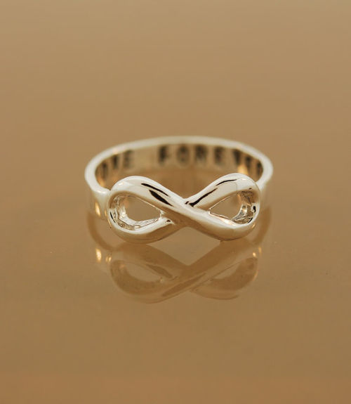 Custom To Infinity Ring by TeriLeeJewelry on Etsy