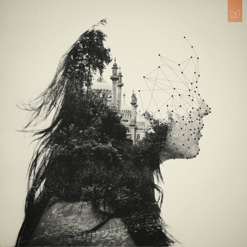 Black-and-white-castle-drawing-face-forest-favim.com-427394_large