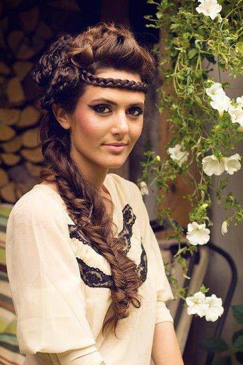 Latest Fashion Hair Styles: crazy hairstyles for long hair
