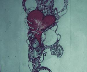 art love tattoo design