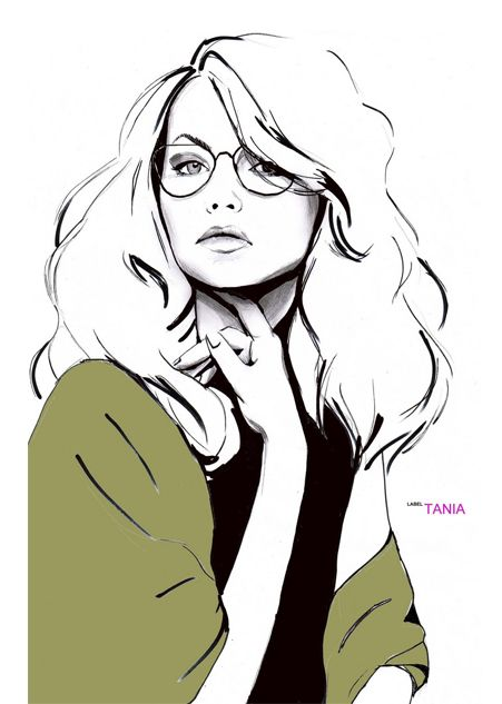 shu84: Tania Label Fashion Illustrations
