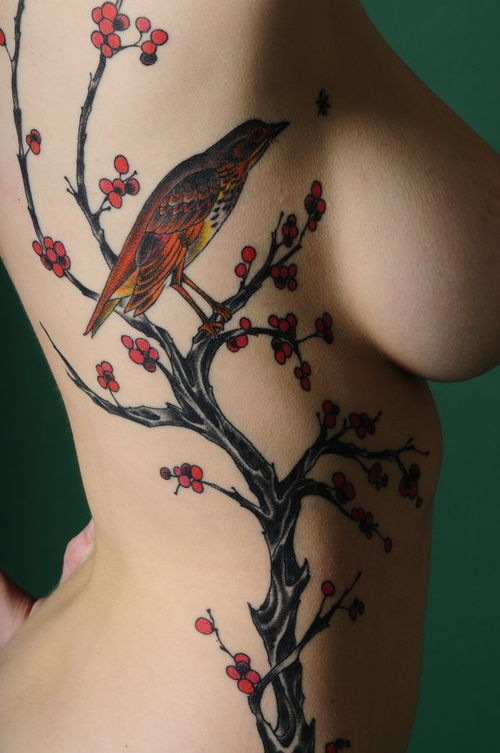 Side Body Tattoo Designs For Women