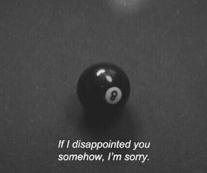disappointed