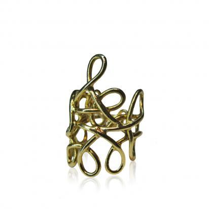 Alda C | Gold Plated Ring | GiftVault - Jewellery