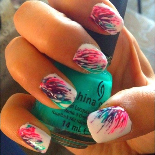Perfect Summertime Nails! | Kayla H.'s Photo | Beautylish