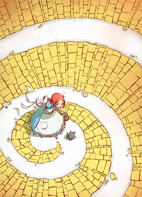 Dorothy_yellow_brick_road_by_skottieyoung-d50x8gx_large