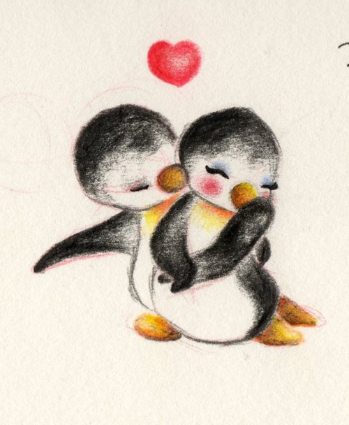 kika, i love penguins…. <3 this drawing :D