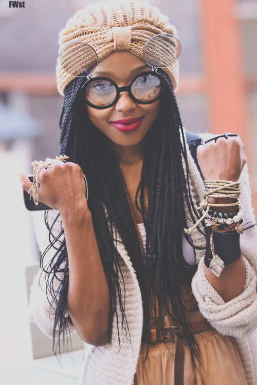 Wavy Box Braids Tumblr Images & Pictures - Becuo