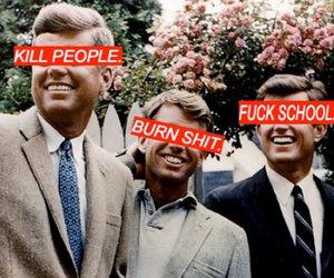 burn shit