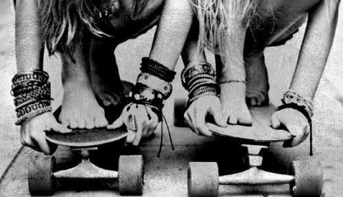 1) chicas en skate!!! on we heart it / visual bookmark #