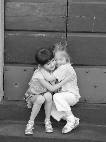 Work.4186300.1.flat_252c550x550_252c075_252cf.a-hug-for-a-friend-two-little-girls-best-friends_large
