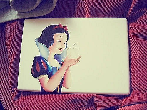 apple, cute, disney, mac, pple - inspiring picture on Favim.com