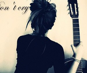 cry lonely girl guitar
