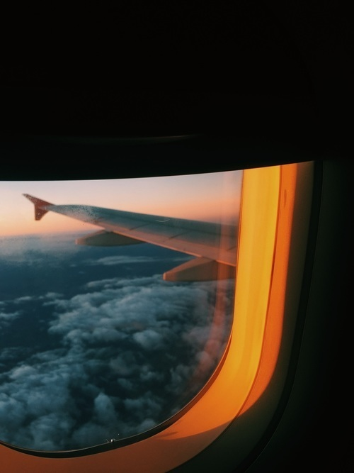 airplane, article, and freedom image