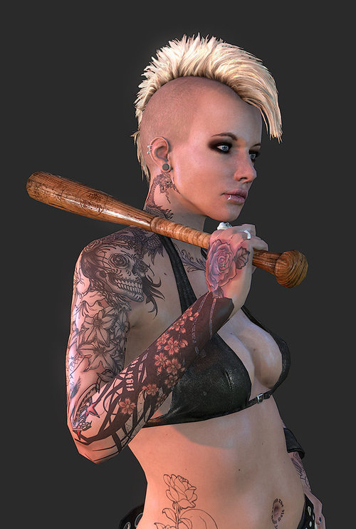 Punk_girl_tattoo_detail_01_by_screenlicker-d4wvdyn_large
