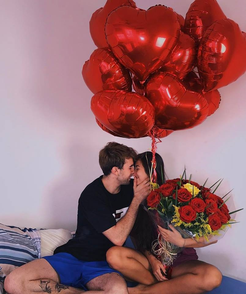 amizade, carinho, and poesia image