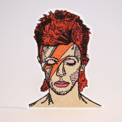 david bowie, music, and patch image