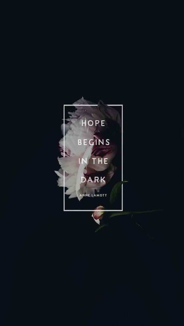 wallpaper, hope, and dark image