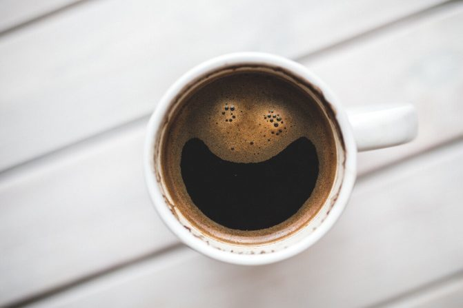 coffee and smile image