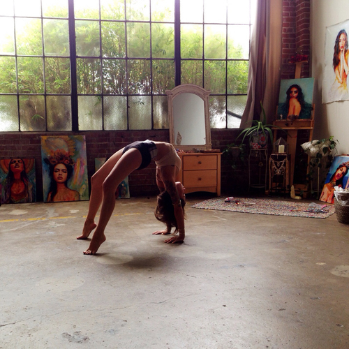 art and yoga image