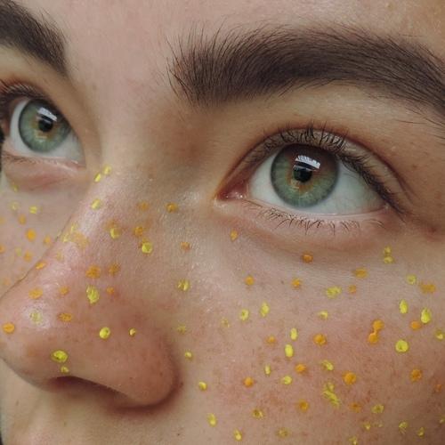 eyes, yellow, and aesthetic image