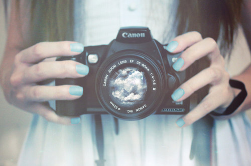 cute, girl, nails, photo, photograph - inspiring picture on Favim.com
