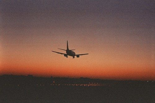 airplane and hipster image
