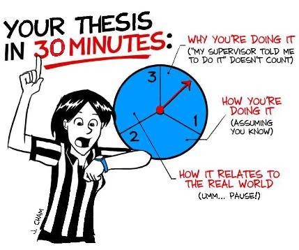 Master thesis cartoon