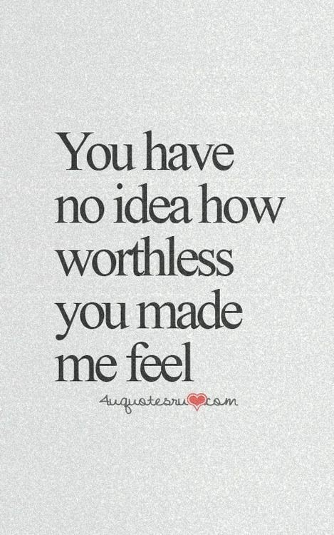 worthless and feel image