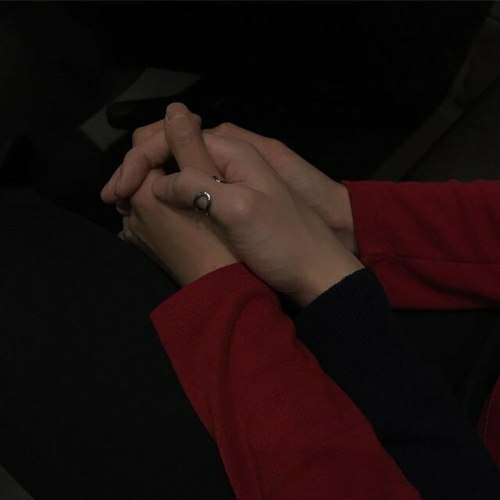 couple, aesthetic, and red image