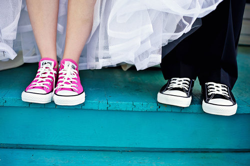 Converse Wedding Shoes Will Forever Be a Keepsake