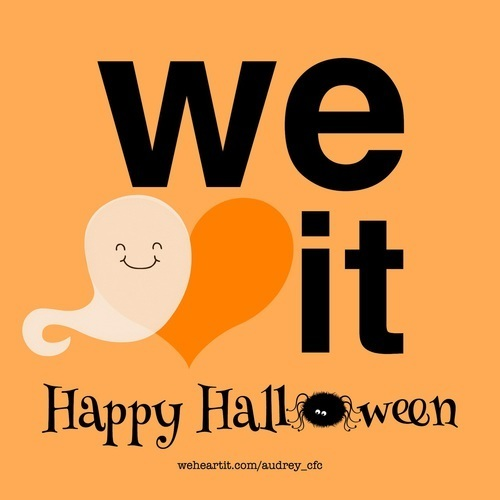 Halloween, we heart it, and ghost image