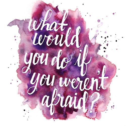 quotes, afraid, and life image